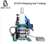 Pneumatic Cable Wire Twisting And Wire Stripping Machine