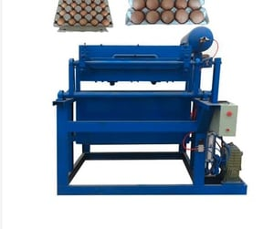 Recycled Paper Egg Cartons Making Machine