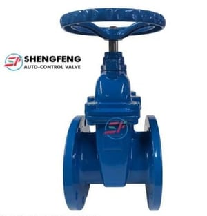 Resilient Seated Wedge Non-Rising Spindle Gate Valves