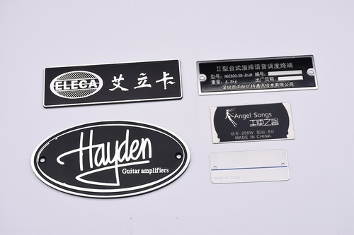 Etched Engraved Metal And Plastic Nameplates