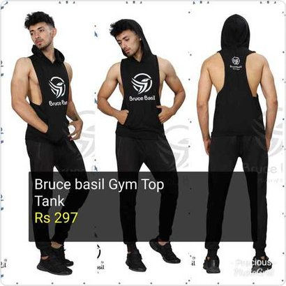 Bruce Basil Gym Top Tank Age Group: Adults