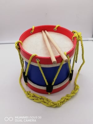 Multi Color Marching Drum