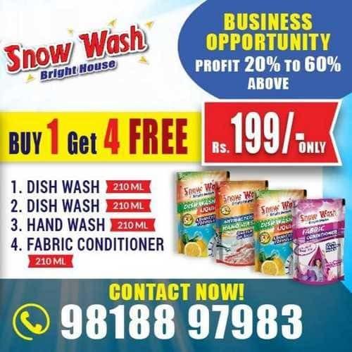 Snow Wash Dish Washing Powder