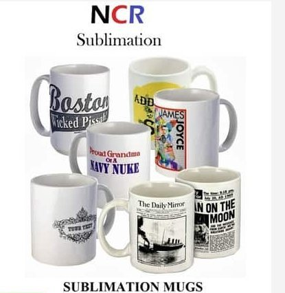 High Grade Sublimation Mugs