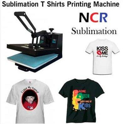 Sublimation T Shirt Printing Machine At