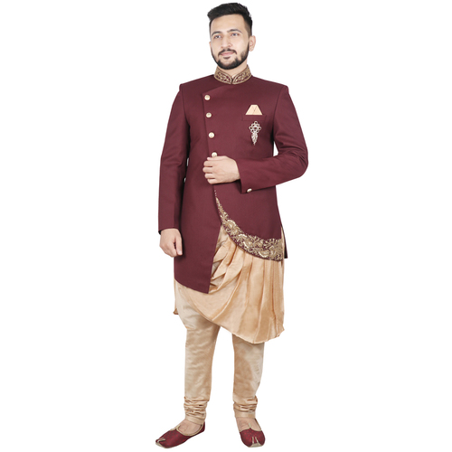 Mens Full Sleeve Sherwani