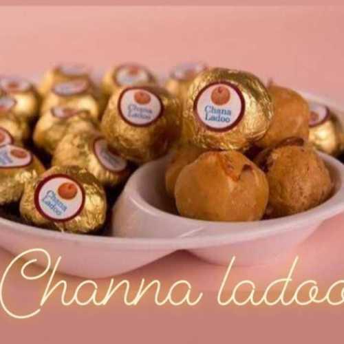 Desi Ghee Chana Laddo