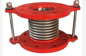 Flexible Bellow Type Expansion Compensator Joint