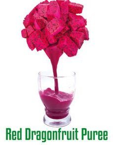 Red Dragon Fruit Puree Certifications: Brc