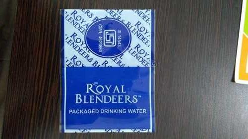 Drinking Water Bottle Labels