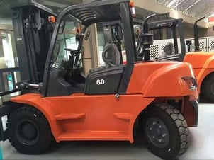 Low Noise Hydraulic Forklift