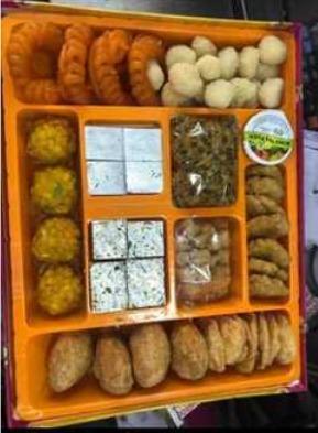 Wedding Bhaji Sweets Boxes