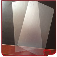 High Quality 0.26mm Thickness PVC Fine Frosted Transparent Rigid Sheet