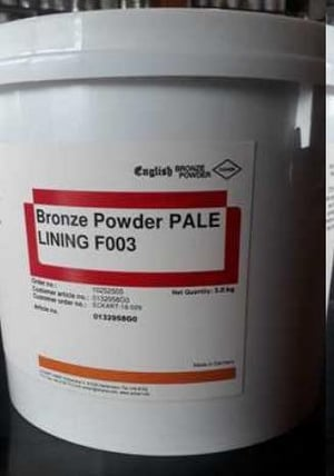 Gold Powder For Screen Printing (Pale Lining F003)