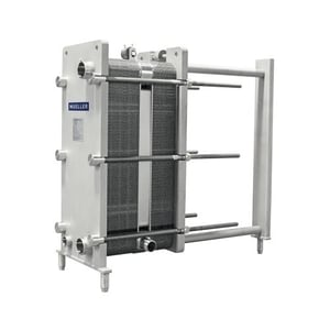 Water Cooled Milk Chiller
