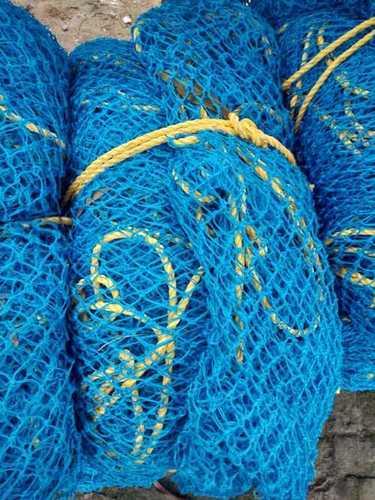 Blue Color Construction Safety Net