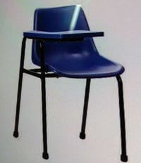 Iron And Plastic Student Chairs with Writing Pad