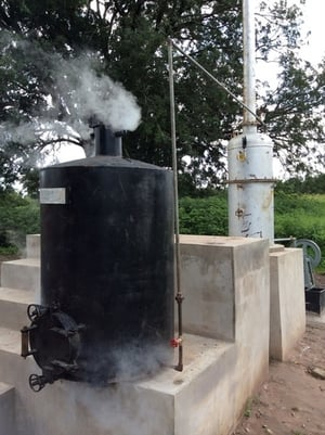 Cashew Steam Cooker And Boiler Capacity 200-320 Kg/Batch