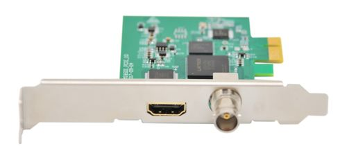 2CH input PCI-e HDMI+SDI Video Capture Card (HD 1080P) vMix Livestreaming Card