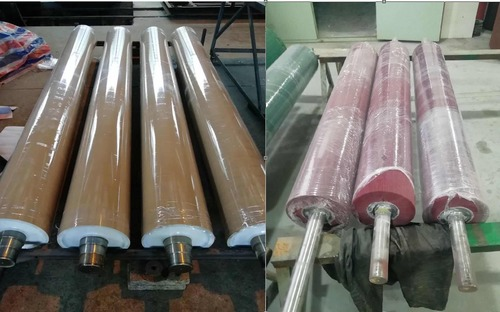 Rubber Roller For Glass Manufacturing