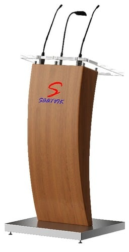 Wooden And Acrylic Podium (SP-634)
