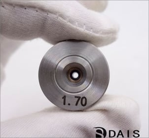 1.70mm PCD Diamond Wire Drawing Die For Silver Wire