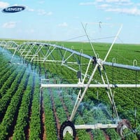 Fixed Center Pivot Farm Irrigation System