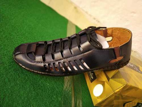 Men Casual Black Sandals