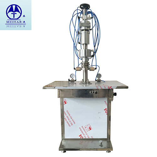 Semi-Automatic Canned Oxygen Filling Machine
