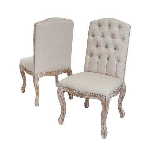 Mango Wood Upholstery Chair