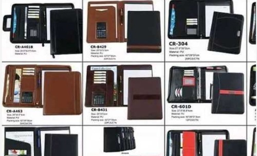 Stylish Leather Conference Folder