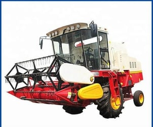 Rice And Wheat Combine Harvester