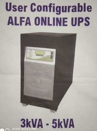 User Configurable Alfa Online UPS
