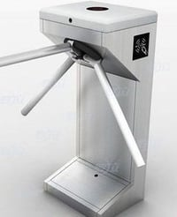 ESD Tripod Turnstile Entry Systems Access Controller Rotate Automatically Machine