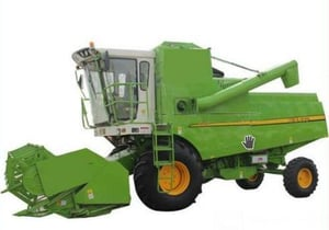 Fully Automatic Combine Harvester