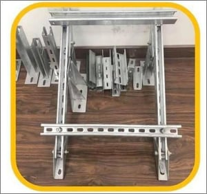 Cold Bending Slotted Galvanized Strut Steel C Channel