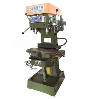 Vertical Pneumatic Double Shaft Drilling And Tapping Machine