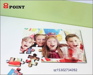Sublimation MDF Wooden Puzzle Jigsaw