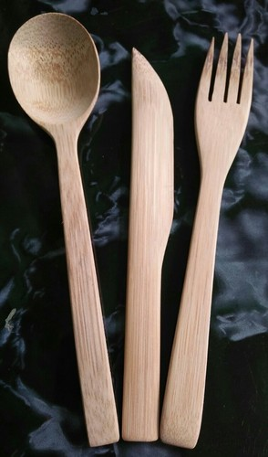 Reusable Pour Bamboo Cutlery