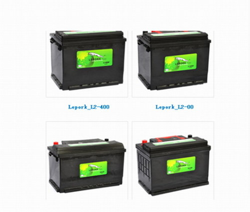 Automobile Acid Lead Dried Battery For Electric Car Certifications: Iso9001