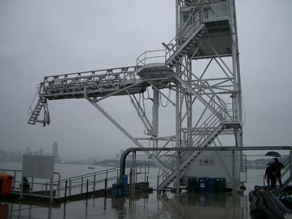 Color Coated Gangway Tower