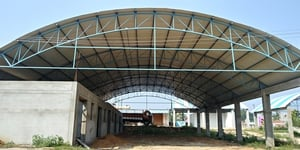 Arch Type Shed