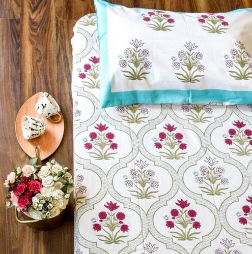 Hand Block Print Bed Sheets
