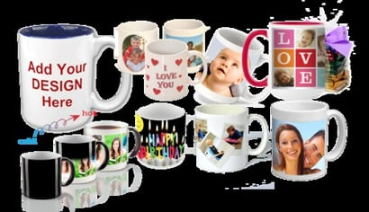 White And Customized Designed Premium Quality Gloss Finished Mug
