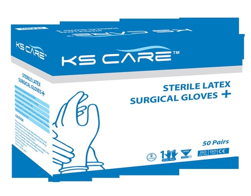 Sterile Latex Surgical Gloves Powdered