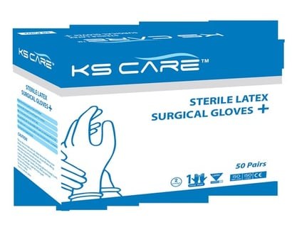 Sterile Latex Surgical Gloves Powdered Certifications: Iso