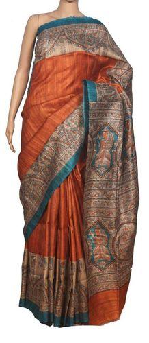 Shrink-Resistant Silk Saree