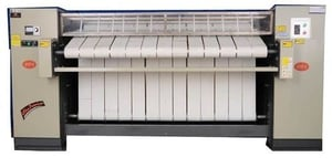 Drying and Pressing Flatwork Ironer