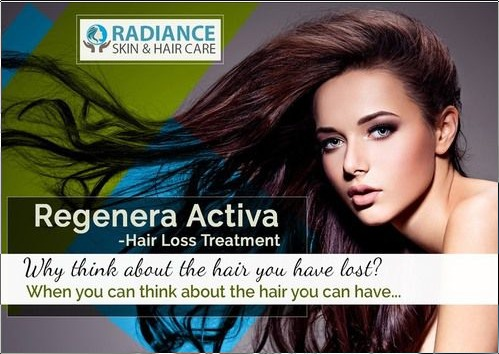 Regenera Activa Treatment Services For Hair Loss In Area Code Chennai Radiance Skin And Hair Care