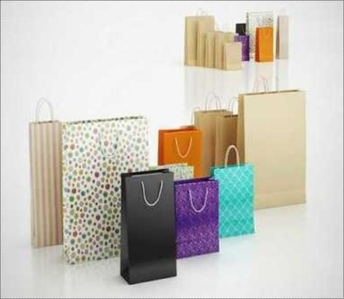 Shopping Brown Paper Bags